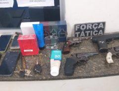Após perseguição, polícia prende quadrilha suspeita de roubar cinco carros na Grande Natal