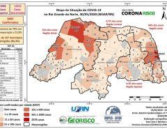 Covid-19 já alcançou 85% dos municípios potiguares