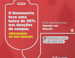Junho Vermelho: aplicativo faz campanha para aumentar estoques de sangue