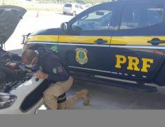 Veículo com apropriação indébita é recuperado pela PRF em Macaíba