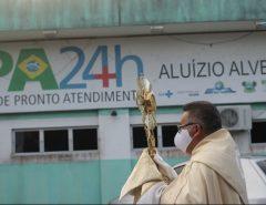 Paróquia de Macaíba realiza oração na UPA Macaíba