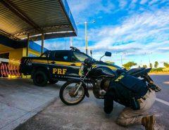 Motocicleta roubada em São José de Mipibu é recuperada em Macaíba pela PRF