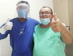 Filha de Dr. Menguita faz relato sobre recuperação do pai