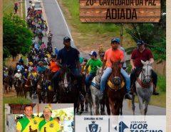 Comunicado: Cavalgada da Paz