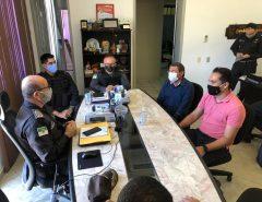 Comando da PM garante ao deputado Kleber Rodrigues a reabertura do Posto Policial de Monte Alegre