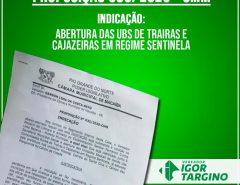 COVID-19: COMUNIDADES RURAIS DE MACAÍBA