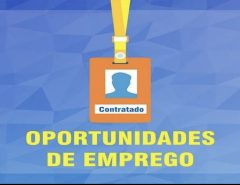 Informe Publicitário: Oportunidade de emprego em Macaíba