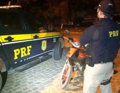 PRF prende homem e apreende ciclomotor em Parnamirim/RN