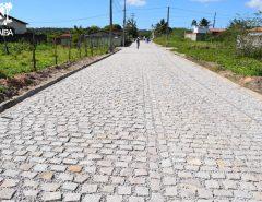Informe Publicitário: Prefeitura dá sequência à pavimentação de Recanto Verde