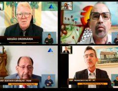 Transporte, previdência e Receita Federal: Líderes da AL debatem problemas do RN