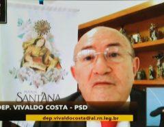 Vivaldo Costa defende tratamento sugerido pela OMS para combate à Covid-19