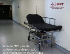 Ação do MPT garante equipamentos de proteção para trabalhadores terceirizados que atuam no Walfredo Gurgel