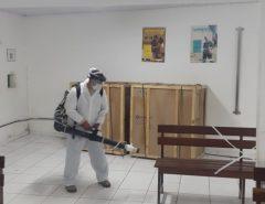 Prefeitura de Macaíba realiza dedetização de unidades de saúde municipais