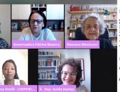Políticas públicas de proteção às mulheres são discutidas no dia de combate ao feminicídio
