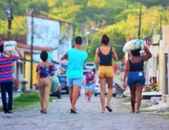 Rua do Mosquito recebe ação de combate ao Covid-19 da CUFA RN