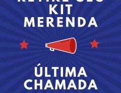 Escola Estadual Dr. Severiano: retire seu kit merenda