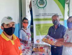 Mesa Brasil Sesc RN entrega 150 cestas básicas em instituição social de Macaíba