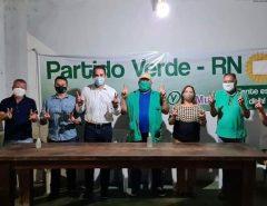 ELIENAI CARTAXO RECEBE APOIO DO PV DE PARNAMIRIM FORTALECENDO O PROJETO DE PRÉ-CANDIDATURA A PREFEITA