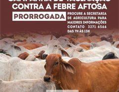 Atenção produtores rurais