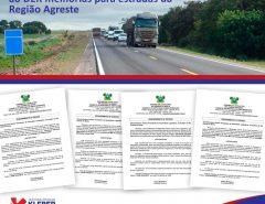 Deputado Kleber Rodrigues cobra do DER melhorias para todas as rodovias do Agreste