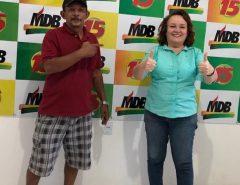 Marília Dias recebe apoio de radialista