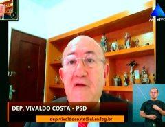 Vivaldo Costa cobra divulgação sobre importância de vacinação contra sarampo no RN