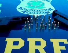 PRF prende homem por porte ilegal de arma de fogo em Macaíba