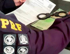 Procurado da justiça por estelionato é preso pela PRF em Macaíba