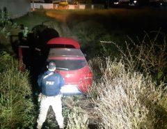 PRF recupera veículo logo após ser roubado, em Mossoró