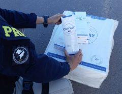 PRF apreende grande carga de cigarros contrabandeados