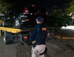 Homem é preso pela PRF em São José de Mipibu/RN com veículo clonado