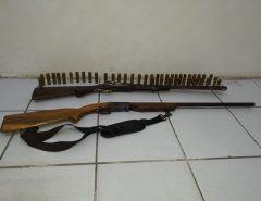 Polícia Militar apreende duas armas de fogo em Ceará-Mirim/RN