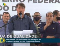 Bolsonaro anuncia em Ipanguaçu que auxílio emergencial segue até dezembro