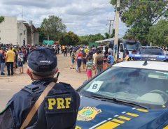 PRF/RN realiza segurança presidencial em Mossoró e Ipanguaçu