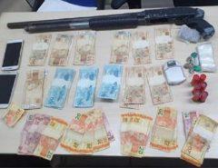 Polícia Militar desarticula ponto de venda de drogas em Parnamirim
