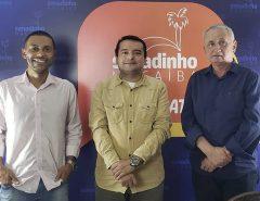 No Senadinho em Debate, empresário Luiz Lacerda conta sua trajetória e sugere medidas para o desenvolvimento de Macaíba
