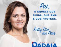 Homenagem da vereadora Dadaia Ribeiro aos pais macaibenses