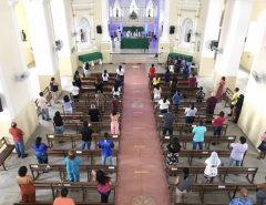 Celebradas primeiras missas com a presença dos fiéis em Macaíba