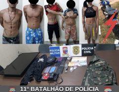 Operação conjunta entre polícias Civil e Militar é realizada em Macaíba
