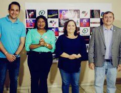 Vice-prefeita de Parnamirim Elienai Cartaxo do PL chega para somar e forma chapa majoritária com a professora Nilda do PSL