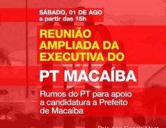PT de Macaíba aposta numa chapa majoritária que una Netinho e Emídio Júnior