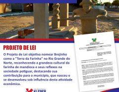 Projeto do deputado Kleber Rodrigues nomeia Brejinho como a Terra da Farinha