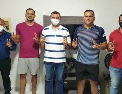 Irmãos Galvão declaram apoio a Emídio Jr. e Tafarel Freitas
