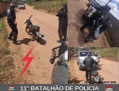 POLÍCIA MILITAR RECUPERA MOTO ROUBADA EM MACAÍBA