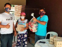 CUFA RN realiza ação social na Comunidade do Bosque Brasil em Macaíba