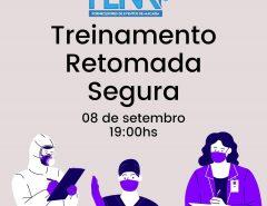 """ASSOCIAÇÃO DOS FORNECEDORES DE EVENTOS DE MACAÍBA PROMOVE TREINAMENTO """"RETOMADA SEGURA"""""""
