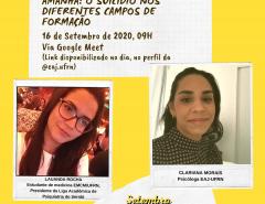 EAJ realiza campanha Setembro Amarelo com ações remotas