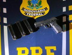 Homem é preso por porte ilegal de arma de fogo em São Gonçalo do Amarante/RN