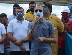 Vice-prefeito Auri declara apoio aos pré-candidatos Emídio Júnior e Netinho França