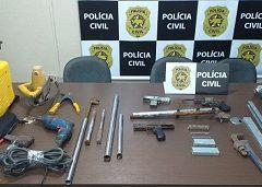 Polícia Civil prende, em Macaíba, suspeito por comércio ilegal de arma de fogo